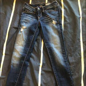 low waisted aeropostale jeans